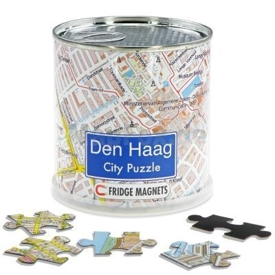 Den haag city puzzle magnets
