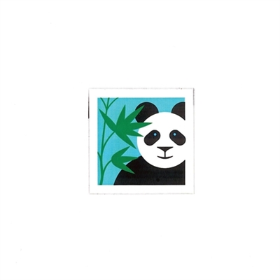 Animal pops: panda (6 cards + envelopes)