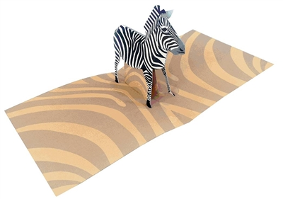Zebra (6 cards + envelopes)