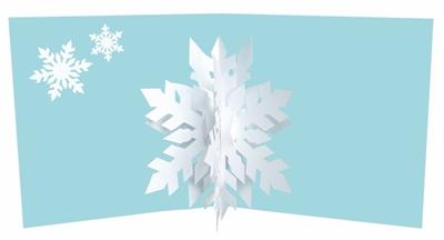 Snowflakes 01 (6 ex - 4,25 per stuk)