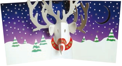Christmas reindeer (6 ex - 4,25 per stuk)
