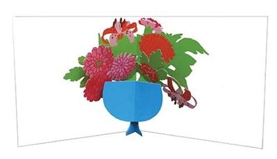 Flower bouquet 02 (6 ex - 4,25 per stuk)