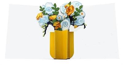 Flower bouquet 03 (6 ex - 4,25 per stuk)
