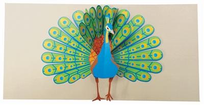 Peacock (6 ex - 4,25 per stuk)