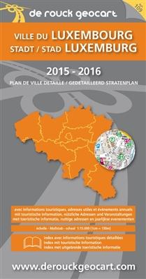 Stadsplan 109. luxemburg jumbo plan -
