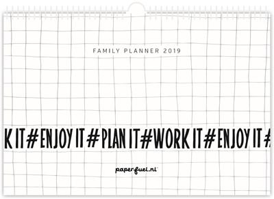 Paperfuel family planner 2019