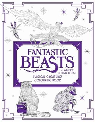 Fantastic beasts : magical creatures colouring book 2