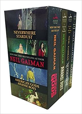 Neil gaiman 4 book box set