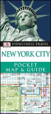 Dk eyewitness pocket map & guide: new york 2016
