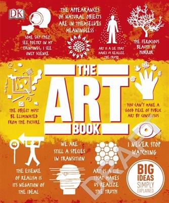 Big ideas Art book