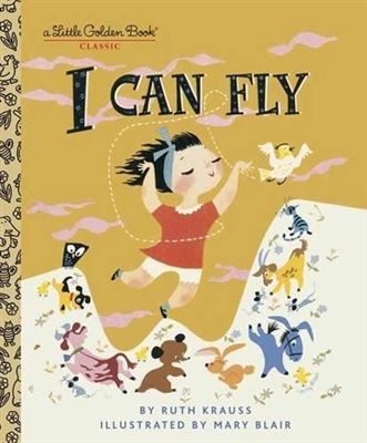 Golden book I can fly