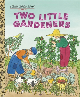 Little golden books Two little gardeners
