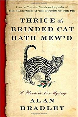 Thrice the brinded cat