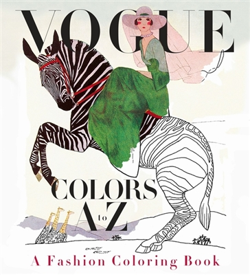 Colouring book Vogue colors a to z