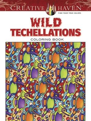 Wild techellations coloring book