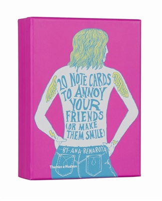 20 notecards to annoy your friends