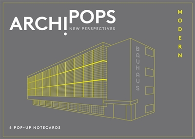 Archipops: notecards box (6 pcs)