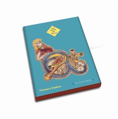 Book of kells: postcard box (30 pcs)