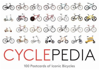 Cyclepedia : 100 postcards of iconic bicycles