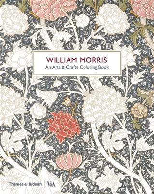 William morris: an arts & crafts colouring book