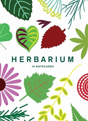 Herbarium: 16 notecards