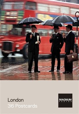 Magnum photos: london - 36 postcards