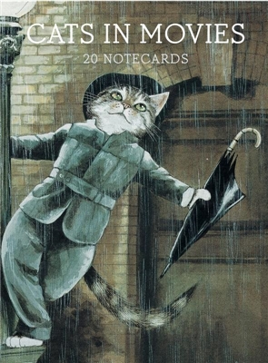 Cats in movies: notecards