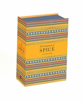 Grammar of spice: 16 notecards