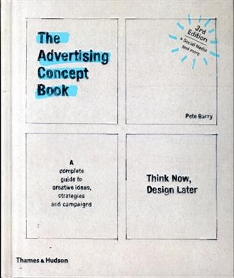 Advertising concept book