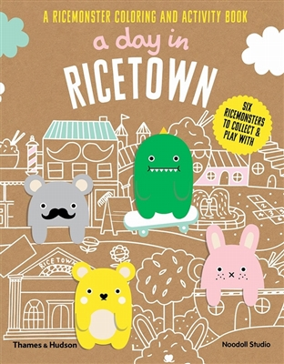 Day in ricetown: a ricemonster colouring and activity book