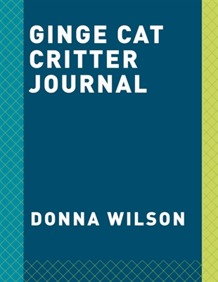 Ginge cat critter journal