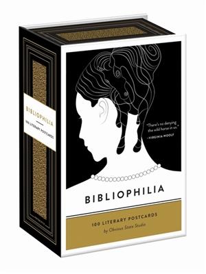 Bibliophilia : 100 literary postcards