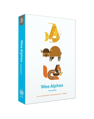 Wee alphas: 26 a-z postcards from the angefish to zebra
