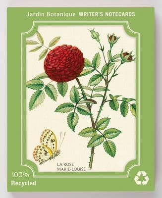 Jardin botanique eco writer's notecards : writers notecards