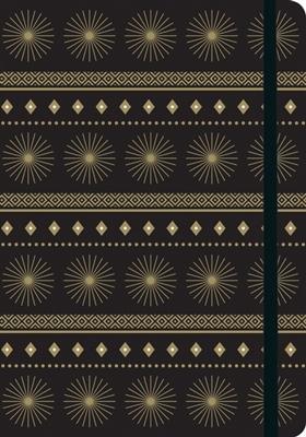 Starburst gilded journal