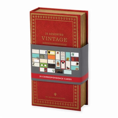 Notecards Vintage correspondence card box