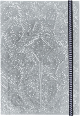 Paseo notebook a5 silver