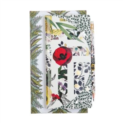 Primavera notebook: set with pencil & pouch