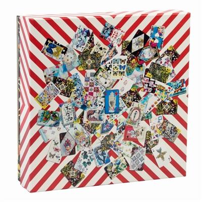 Double sided 250 piece puzzle: maison de jeu