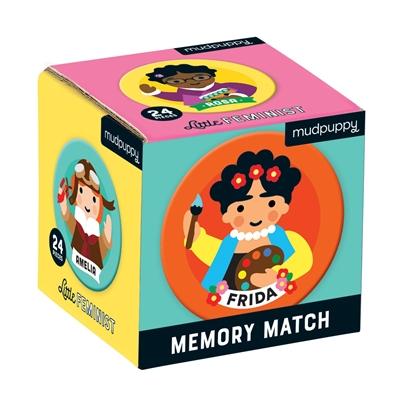 Little feminist mini memory match