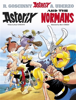 Asterix (09) asterix and the normans (english)
