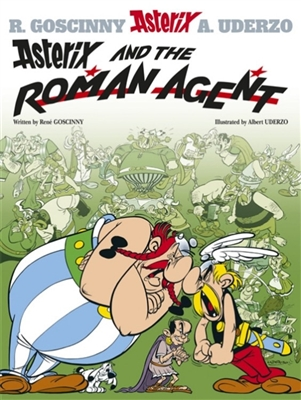 Asterix (15) asterix and the roman agent (english)