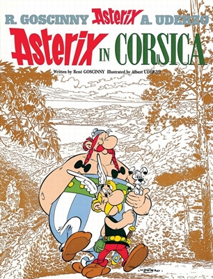 Asterix (20) asterix in corsica (english)