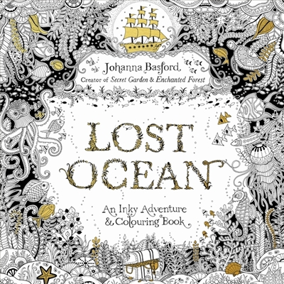 Lost ocean : an underwater adventure & colouring book