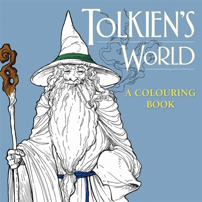 Tolkien's world: a colouring book