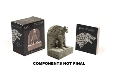 Game of thrones: stark direwolf