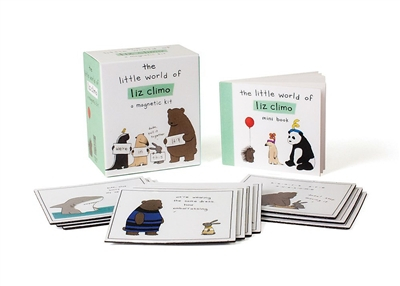 Miniture editions Little world of liz climo: a magnetic kit
