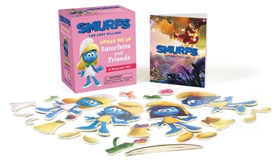 Smurfs the lost village: dress me up smurfette and friends : a magnetic kit