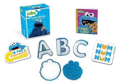 Sesame street: cookie monster cookie cutter kit