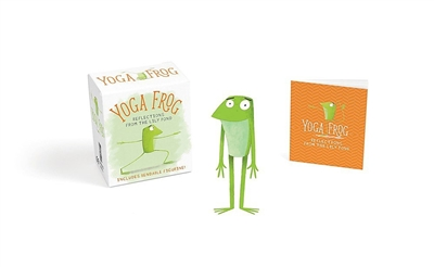 Miniture editions Yoga frog: reflections from the lily pond